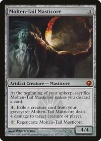 Molten-Tail Masticore, Magic: The Gathering, Scars of Mirrodin
