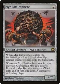 Myr Battlesphere, Magic: The Gathering, Scars of Mirrodin