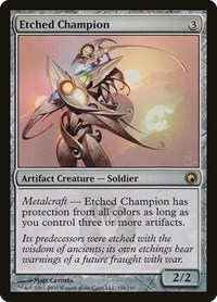 Etched Champion, Magic: The Gathering, Scars of Mirrodin