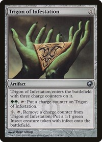 Trigon of Infestation, Magic: The Gathering, Scars of Mirrodin