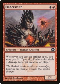 Embersmith, Magic: The Gathering, Scars of Mirrodin
