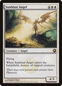 Sunblast Angel, Magic: The Gathering, Scars of Mirrodin