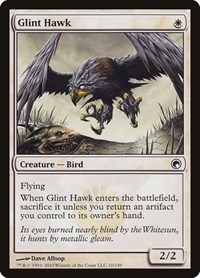 Glint Hawk, Magic: The Gathering, Scars of Mirrodin