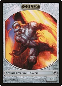 Golem Token, Magic: The Gathering, Scars of Mirrodin