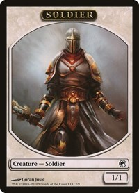 Soldier Token, Magic: The Gathering, Scars of Mirrodin