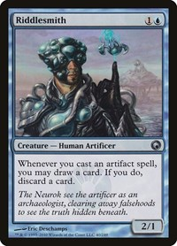 Riddlesmith, Magic: The Gathering, Scars of Mirrodin