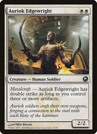 Auriok Edgewright, Magic: The Gathering, Scars of Mirrodin