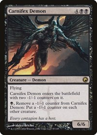 Carnifex Demon, Magic: The Gathering, Scars of Mirrodin