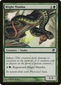 Blight Mamba, Magic: The Gathering, Scars of Mirrodin