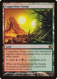 Copperline Gorge, Magic, Scars of Mirrodin
