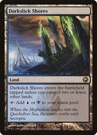 Darkslick Shores, Magic: The Gathering, Scars of Mirrodin
