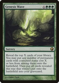 Genesis Wave, Magic: The Gathering, Scars of Mirrodin