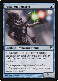 Vedalken Certarch, Magic: The Gathering, Scars of Mirrodin