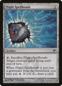 Flight Spellbomb, Magic: The Gathering, Scars of Mirrodin