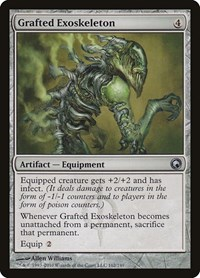 Grafted Exoskeleton, Magic: The Gathering, Scars of Mirrodin