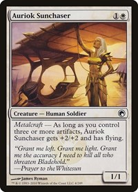 Auriok Sunchaser, Magic: The Gathering, Scars of Mirrodin
