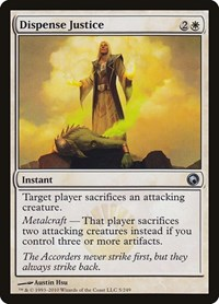 Dispense Justice, Magic: The Gathering, Scars of Mirrodin