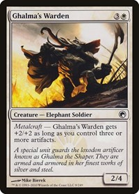 Ghalma's Warden, Magic: The Gathering, Scars of Mirrodin