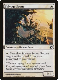 Salvage Scout, Magic: The Gathering, Scars of Mirrodin