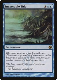 Inexorable Tide, Magic: The Gathering, Scars of Mirrodin