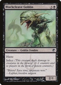 Blackcleave Goblin, Magic: The Gathering, Scars of Mirrodin