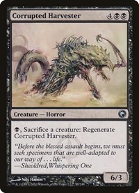 Corrupted Harvester, Magic: The Gathering, Scars of Mirrodin