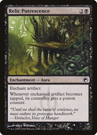 Relic Putrescence, Magic: The Gathering, Scars of Mirrodin