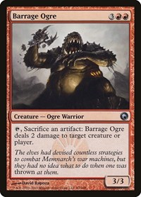 Barrage Ogre, Magic: The Gathering, Scars of Mirrodin