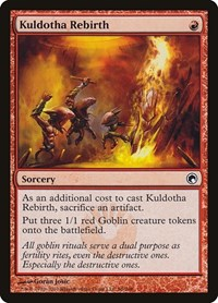 Kuldotha Rebirth, Magic: The Gathering, Scars of Mirrodin