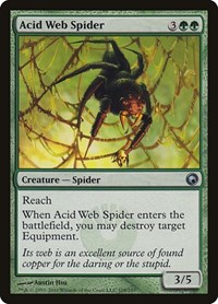 Acid Web Spider, Magic: The Gathering, Scars of Mirrodin