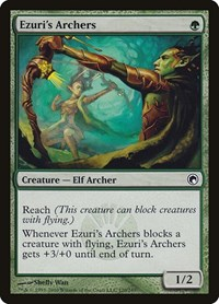 Ezuri's Archers, Magic: The Gathering, Scars of Mirrodin