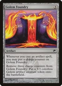 Golem Foundry, Magic: The Gathering, Scars of Mirrodin