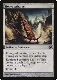 Heavy Arbalest, Magic: The Gathering, Scars of Mirrodin