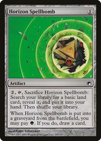 Horizon Spellbomb, Magic, Scars of Mirrodin