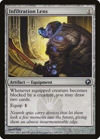 Infiltration Lens, Magic, Scars of Mirrodin