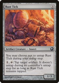 Rust Tick, Magic: The Gathering, Scars of Mirrodin