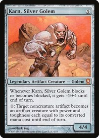 Karn, Silver Golem, Magic, From the Vault: Relics
