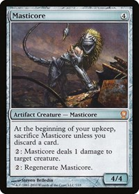 Masticore, Magic, From the Vault: Relics