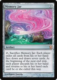 Memory Jar, Magic: The Gathering, From the Vault: Relics