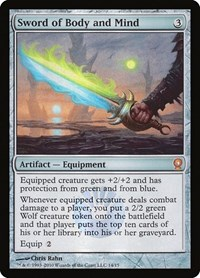 Sword of Body and Mind, Magic, From the Vault: Relics