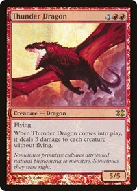 Thunder Dragon, Magic: The Gathering, From the Vault: Dragons
