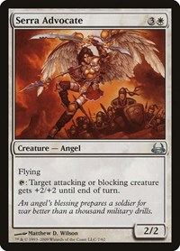 Serra Advocate, Magic: The Gathering, Duel Decks: Divine vs. Demonic