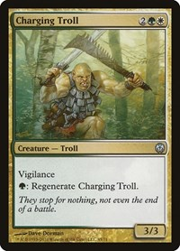 Charging Troll, Magic, Duel Decks: Phyrexia vs. the Coalition