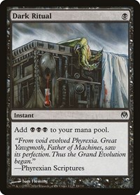 Dark Ritual, Magic: The Gathering, Duel Decks: Phyrexia vs. the Coalition