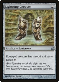 Lightning Greaves, Magic: The Gathering, Duel Decks: Phyrexia vs. the Coalition