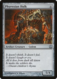 Phyrexian Hulk, Magic: The Gathering, Duel Decks: Phyrexia vs. the Coalition