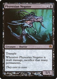 Phyrexian Negator, Magic: The Gathering, Duel Decks: Phyrexia vs. the Coalition