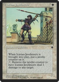 Icatian Javelineers (Benson), Magic: The Gathering, Fallen Empires