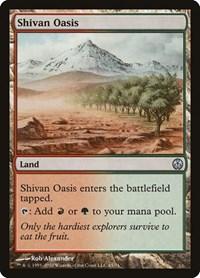Shivan Oasis, Magic: The Gathering, Duel Decks: Phyrexia vs. the Coalition