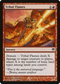 Tribal Flames, Magic: The Gathering, Duel Decks: Phyrexia vs. the Coalition